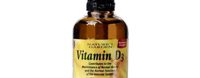 течен витамин д